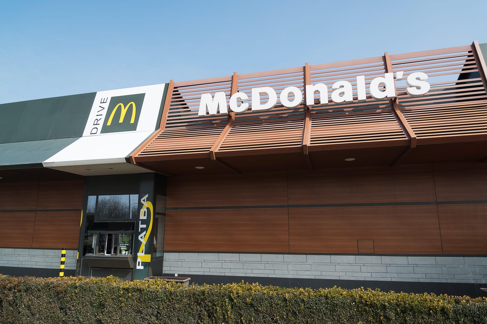 Branding prevádzky McDrive